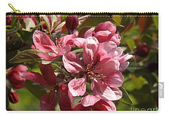 Fragrant Crab Apple Blossoms Carry-all Pouch