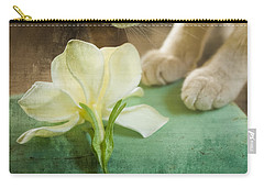 Fragrant Gardenia Carry-all Pouch