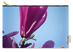 Carry-all Pouch featuring the photograph Fragrant Silence by Kerri Farley