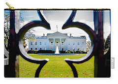Framed Whitehouse Carry-all Pouch by Greg Fortier