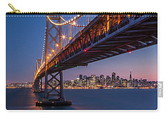 Carry-all Pouch featuring the photograph Framing San Francisco by Mihai Andritoiu