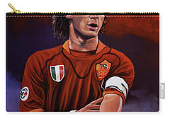 Francesco Totti Carry-all Pouch by Paul Meijering