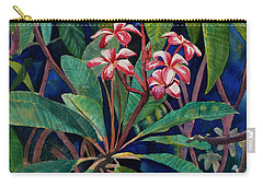 Frangipani Carry-all Pouch