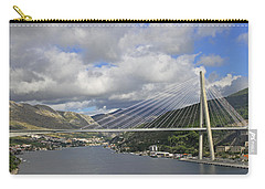 Franjo Tudman Bridge Carry-all Pouch by Tony Murtagh