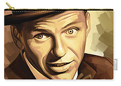 Frank Sinatra Artwork 2 Carry-all Pouch by Sheraz A