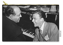 Frank Sinatra At Stork Club Carry-all Pouch by Underwood Archives
