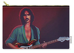 Frank Zappa Carry-all Pouch by Paul Meijering
