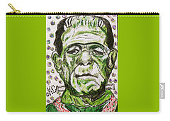 Frankenstein Carry-all Pouch by Kathy Marrs Chandler