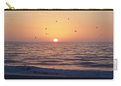 Carry-all Pouch featuring the photograph Free As A Bird by Victor Montgomery