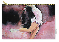 Carry-all Pouch featuring the painting Free Spirit by Hanne Lore Koehler
