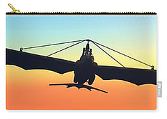 Carry-all Pouch featuring the digital art Free... by Tim Fillingim