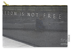 Freedom Is Not Free Carry-all Pouch by Steven Ralser