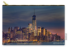 Freedom Tower Construction End Of 2013 Carry-all Pouch by Jerry Fornarotto