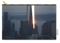 Freedom Tower Carry-all Pouch by John Telfer