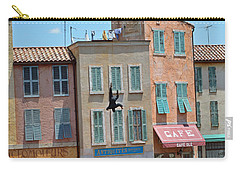 Carry-all Pouch featuring the photograph Freefall by Robert Meanor
