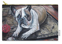 french Bull dog Carry-all Pouch