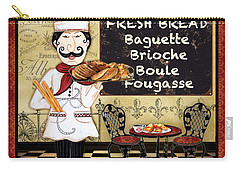 French Chef-a Carry-all Pouch by Jean Plout