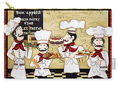 French Chefs-bon Appetit Carry-all Pouch by Jean Plout