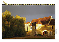 French House At Sunset Carry-all Pouch