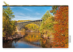French King Bridge In Autumn Carry-all Pouch