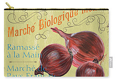 French Market Sign 4 Carry-all Pouch by Debbie DeWitt