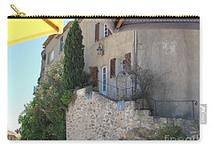 French Riviera - Ramatuelle Carry-all Pouch by HEVi FineArt