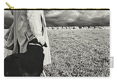 French Shepherd - B W Carry-all Pouch