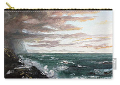 Carry-all Pouch featuring the painting Frenchman's Bay by Lee Piper