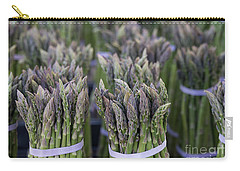 Fresh Asparagus Carry-all Pouch by Mike  Dawson