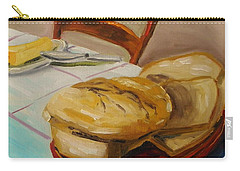 Carry-all Pouch featuring the painting Fresh Bread by John Williams