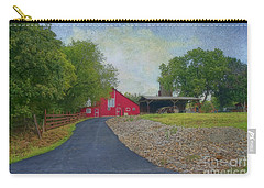 Carry-all Pouch featuring the photograph Fresh Country Charm by Liane Wright