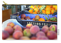 Carry-all Pouch featuring the photograph Fresh Fruit by Vicki Spindler