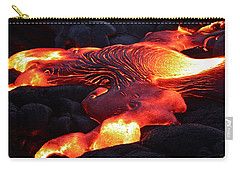 Fresh Lava Flow Carry-all Pouch by Venetia Featherstone-Witty