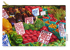 Fresh Market Vegetables Carry-all Pouch