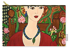 Frida With Vines Carry-all Pouch