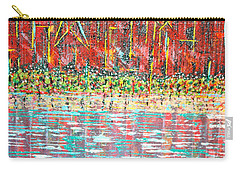 Friday At The Beach - Sold Carry-all Pouch by George Riney