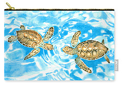 Friends Baby Sea Turtles Carry-all Pouch