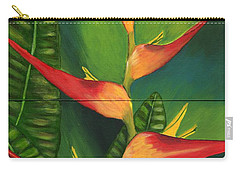 Carry-all Pouch featuring the painting Friendship by Laura Forde