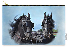 Friesians Flying Carry-all Pouch