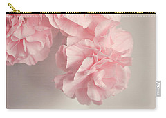 Frilly Pink Carnations Carry-all Pouch