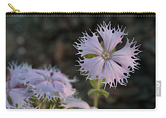 Carry-all Pouch featuring the photograph Fringed Catchfly by Paul Rebmann