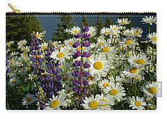 Carry-all Pouch featuring the photograph Frisco Flowers by Lynn Bauer