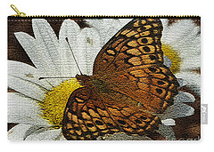 Fritillary Variegated  Carry-all Pouch by James C Thomas
