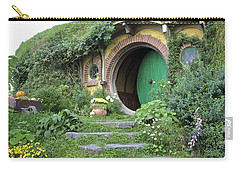 Frodo Baggins Lives Here Carry-all Pouch by Venetia Featherstone-Witty