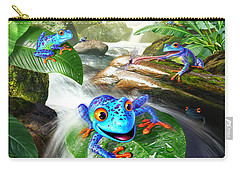 Frog Capades Carry-all Pouch
