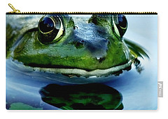 Green Frog I Only Have Eyes For You Carry-all Pouch