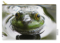Frog Kiss Carry-all Pouch by Dianne Cowen