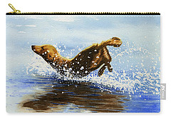 Frolicking Dog Carry-all Pouch