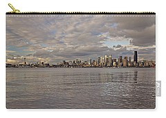 from Alki Beach Seattle skyline Carry-all Pouch
