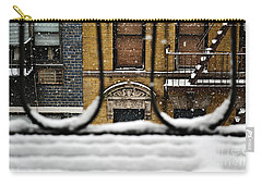 From My Fire Escape - Arches In The Snow Carry-all Pouch
